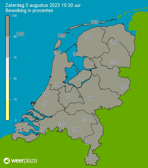 Weersverwachting voor de Roerstreek – Limburg