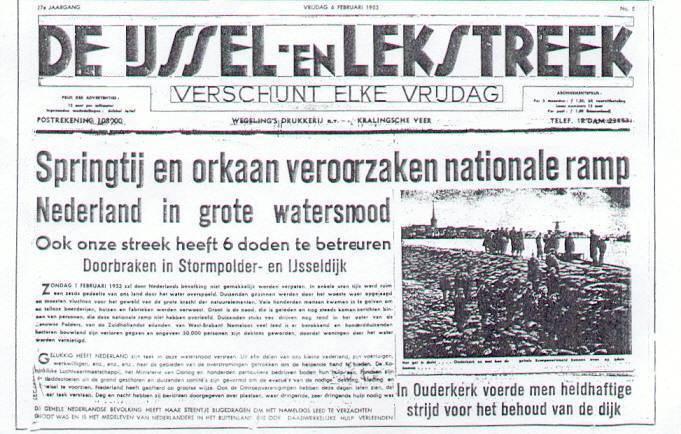 Kranten Artikels Over Water 80