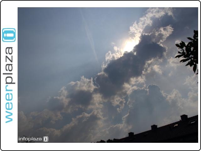 Wolken groeiden snel