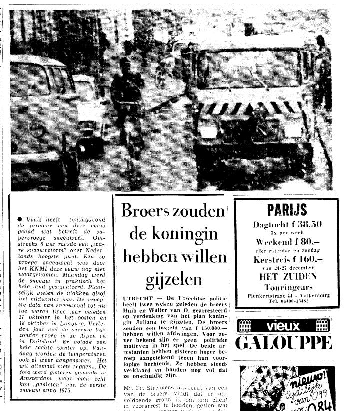 Het nieuws in het Limburgs Dagblad van 14 oktober
