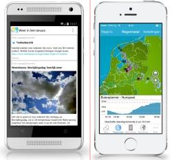 Weerplaza app's vernieuwd