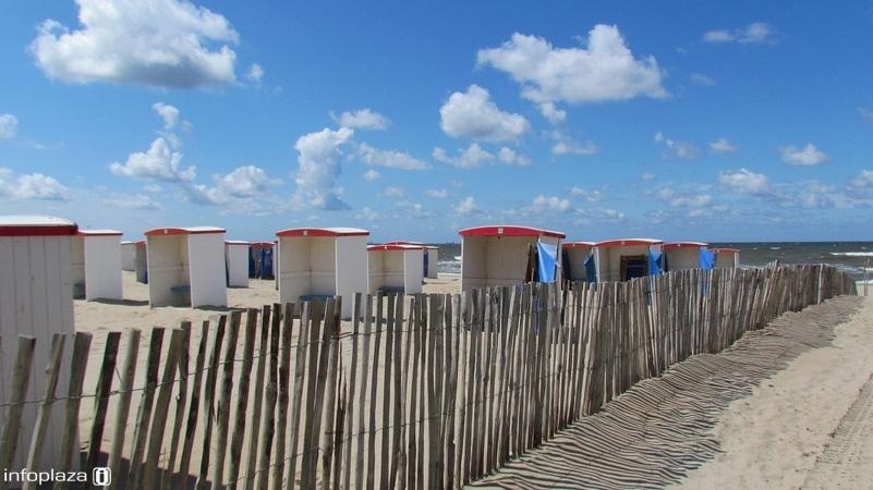 Het strand zal dit weekend vollopen