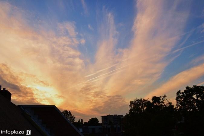 Donderdag wisselen zon en wolken elkaar af, later gevolgd door buien