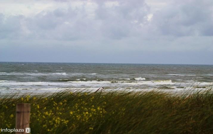 Ook de zee wordt behoorlijk ruig